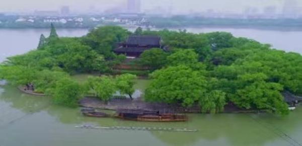 见证中国共产党诞生的南湖红船